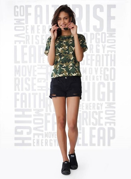 Casual Olive top