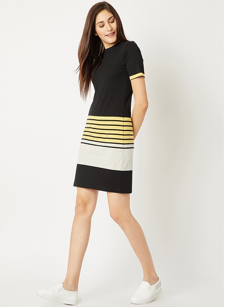Casual Striped LBD