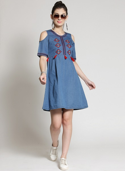 c4632754ef Redefine Your Style Statement With These Trendy Denim Dresses – The ...
