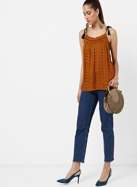 Ethnic Printed Top