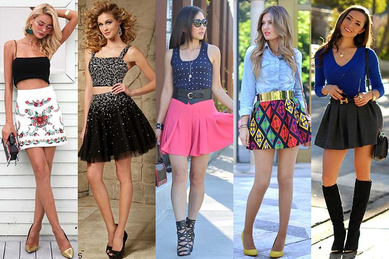 8 Short Skirts Styles to Try this Season!