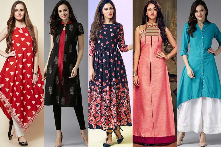Different Types Of Kurtis Designs You Must Own - TGLB