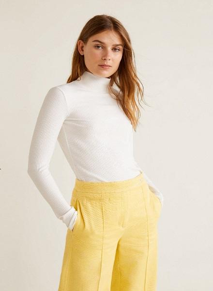 Long Sleeved White Tshirt