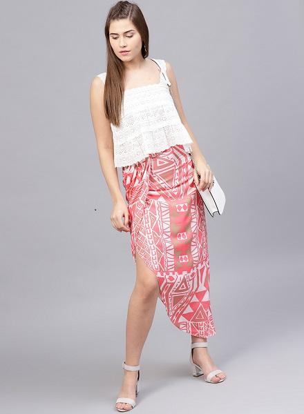 Sarong Wrap Skirt