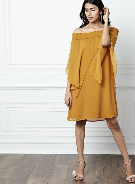 AsymmetricalCape Dresses