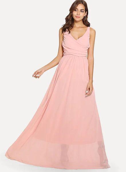 Chiffon Gown Dress