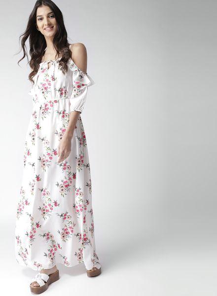 Cold Shoulder Gown Dress