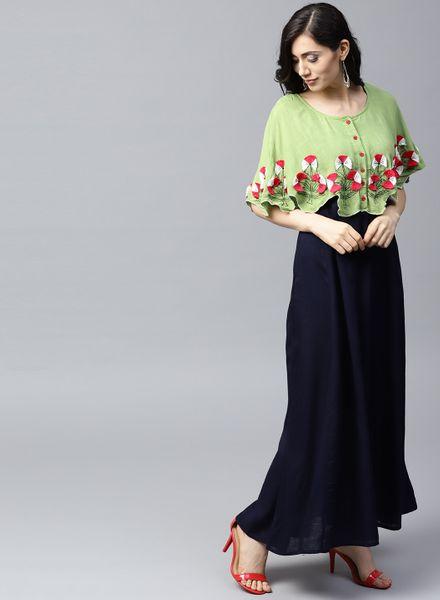 Ethnic Cape Dresses