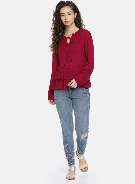 Frilled Fancy Top