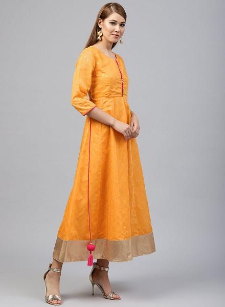 Ethnic Dress for Haldi Ceremony