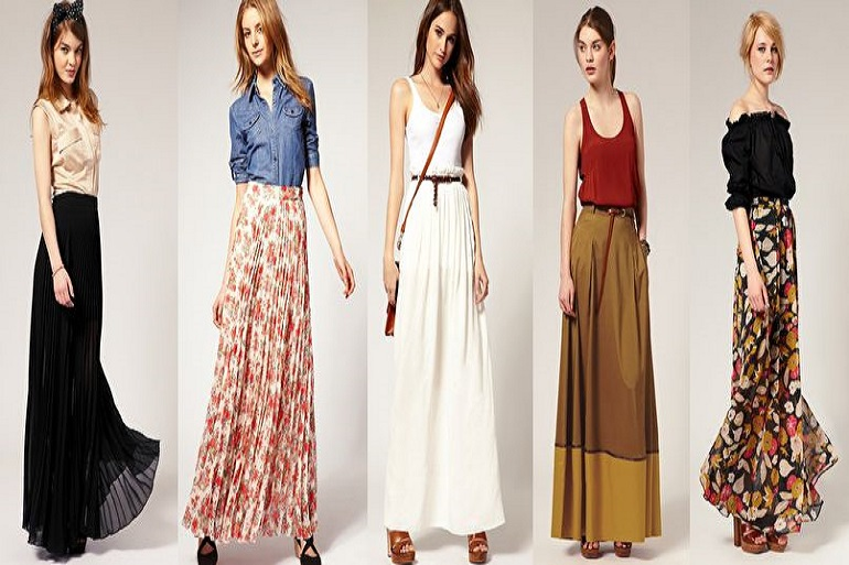 10 Long Skirts Styles that You Must Try Out