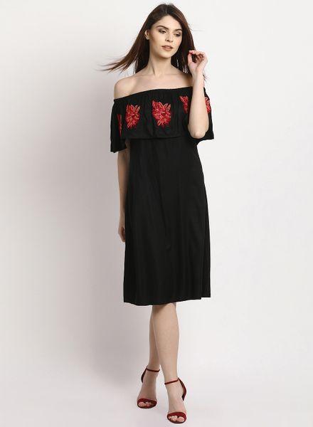 Off-ShoulderCape Dresses