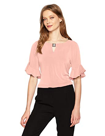 Shopclues Ruffled Sleeves Top