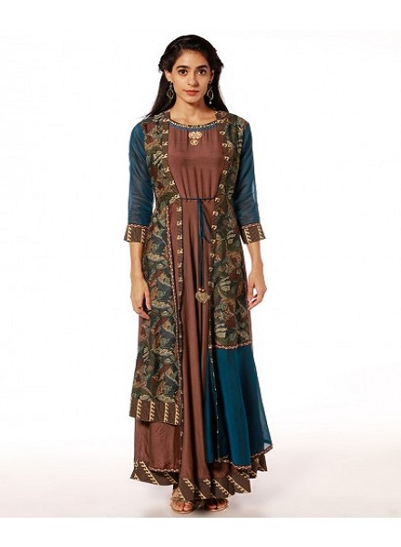 Soch Embroidered Kurti
