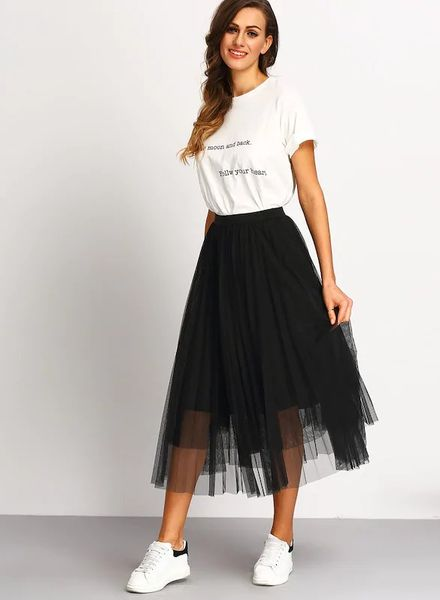 Flared Tulle