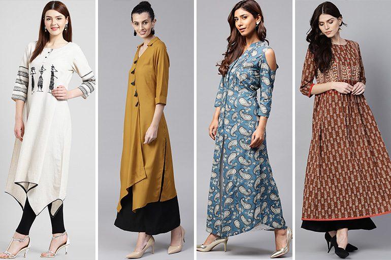 9 Latest New Kurti Designs 2019 Pattern Images Price