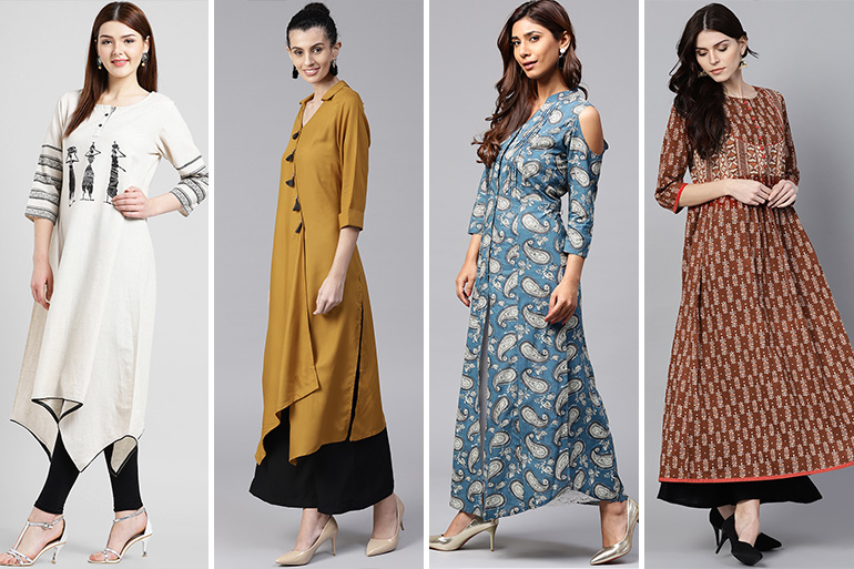 top kurti patterns