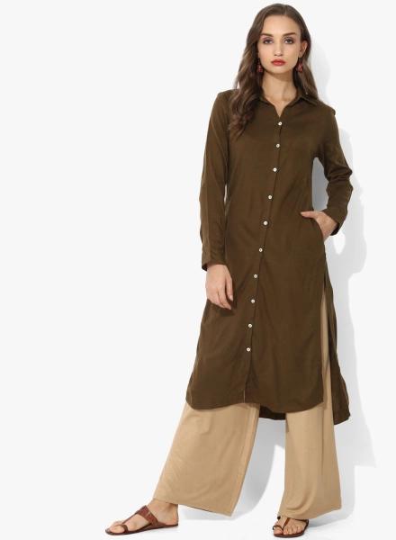 Shirt Style Biba Kurti