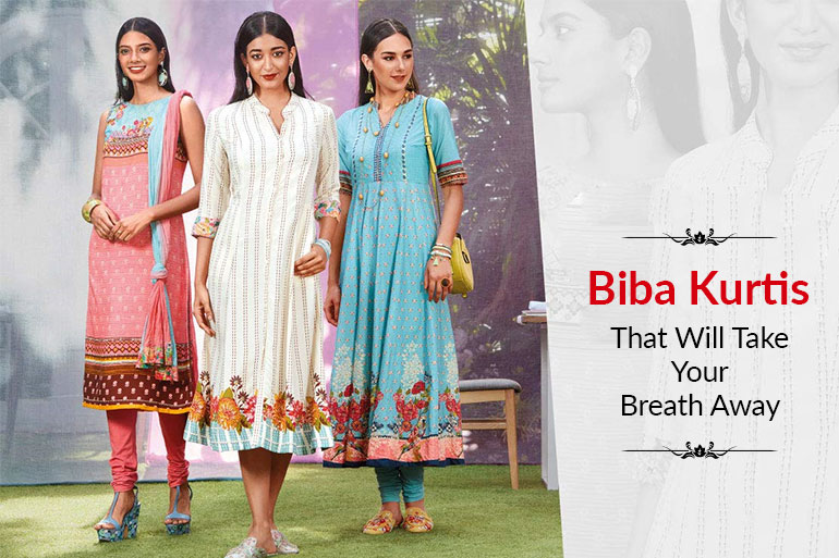 Top 9 Biba Kurtis That Will Take Your Breath Away