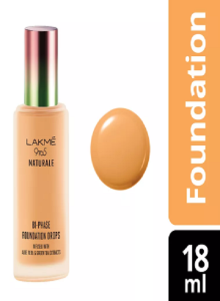 Lakme 9 To 5 Naturale Foundation Drops: Review