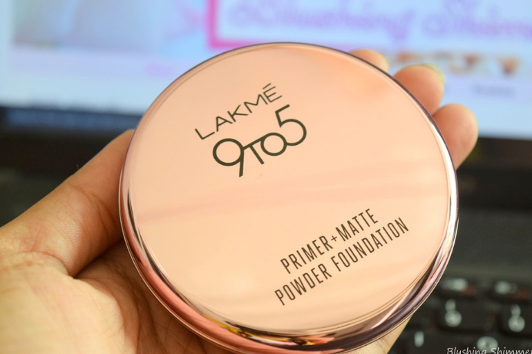 Lakme 9 to 5 Primer + Matte Powder Compact Foundation: Review & Shades