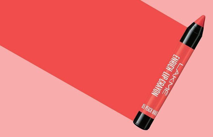 Lakme Enrich Lip Crayon, Peach Magnet