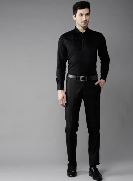 The Classic Black Shirt
