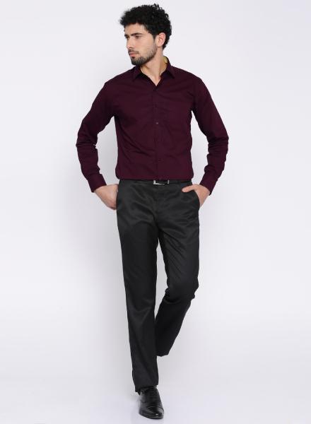 Subtle Burgundy Shirt