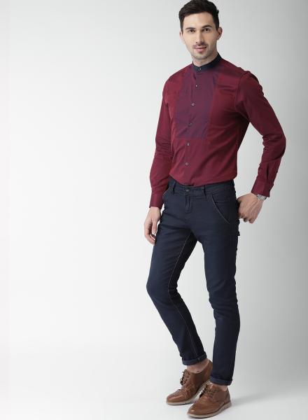 Classy Maroon Shirt