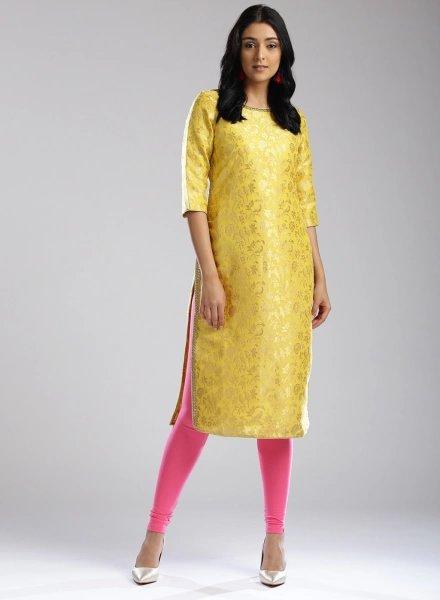 Mustard W Kurti