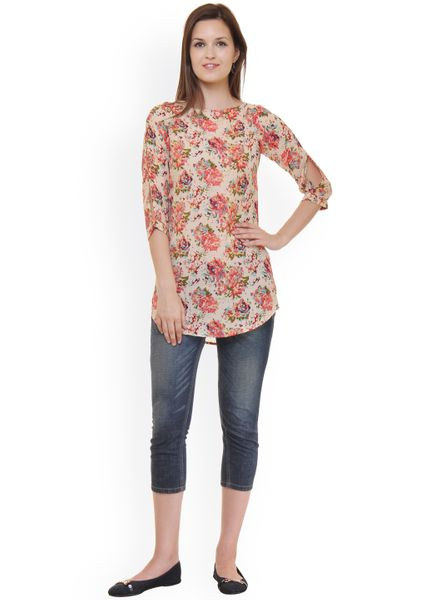 Forever Floral Tunic Top