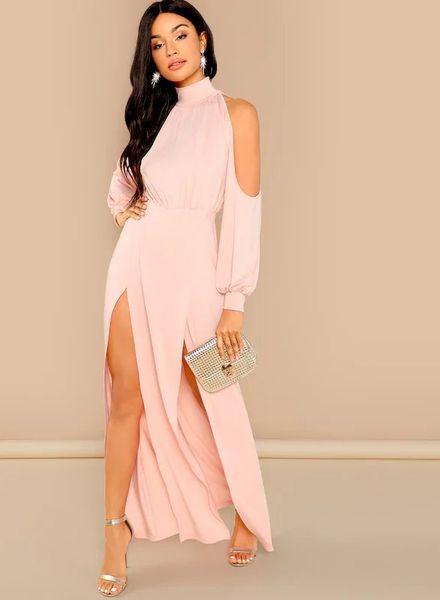 Front Slit Cocktail Dresses