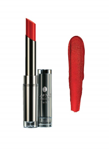 Lakme Absolute Matte Lipstick Red Envy