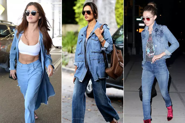 7 Chic Ways To Wear Denim Shrugs