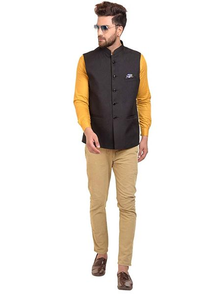 How to Wear Nehru Jacket with Jeans