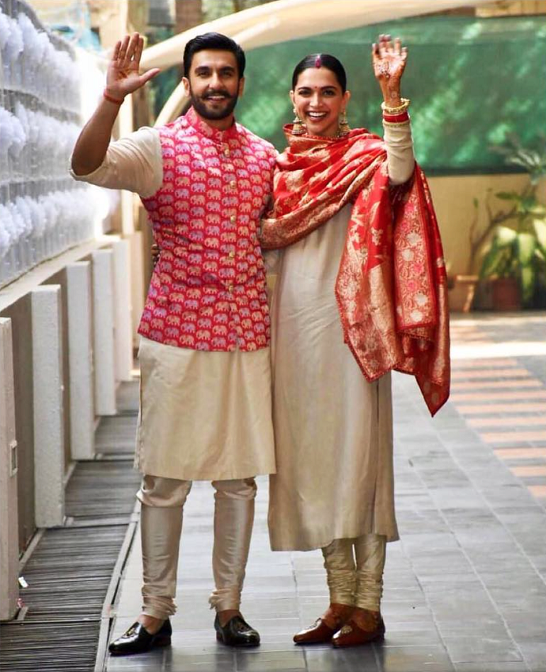 Deepika Padukone And Ranveer Singh Wedding- Mumbai