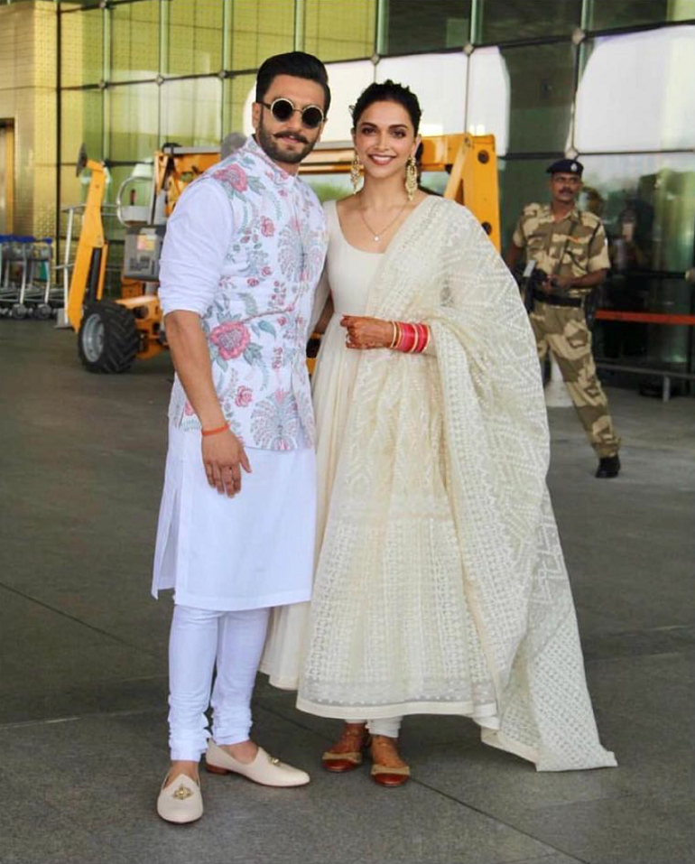 Deepika Padukone And Ranveer Singh Wedding- Off To Bengaluru