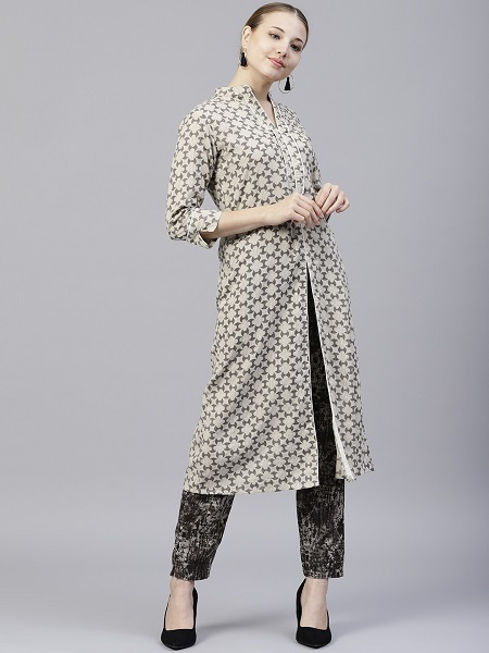 Kurti With Trousers