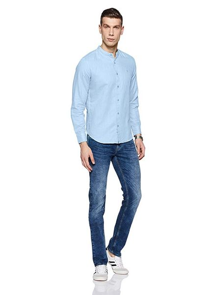 Linen Shirt with Jeans