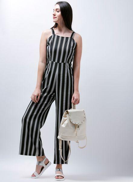 Monochrome Culotte Jumpsuit
