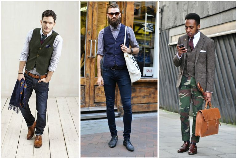 How To Wear Waistcoat With Jeans