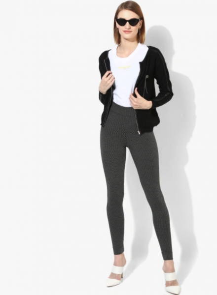 Leggings with Business Casuals