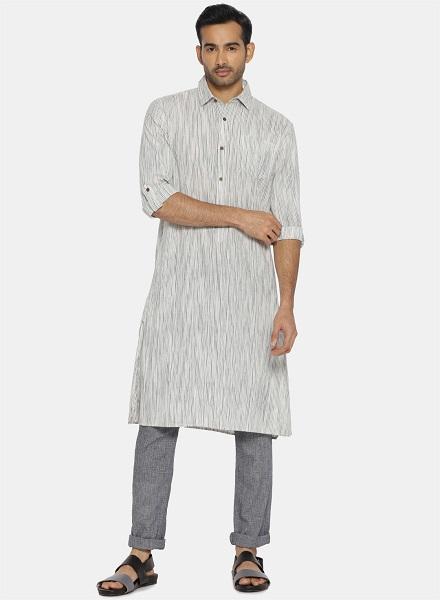 Striped Designer Kurta