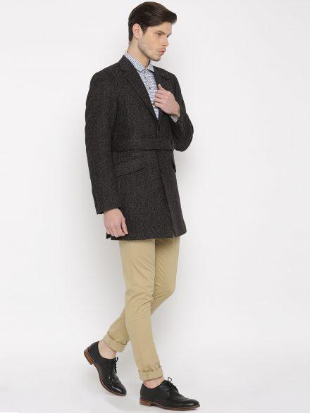 Full Length Belted Waist Coat