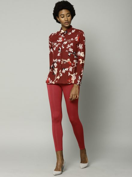 Leggings with Pop of Color
