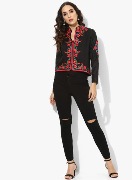 Embroidered Ethnic Jacket