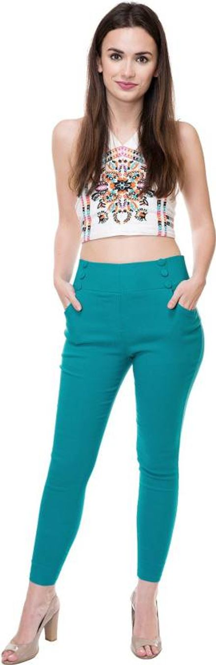 Jeggings with Colour Pop