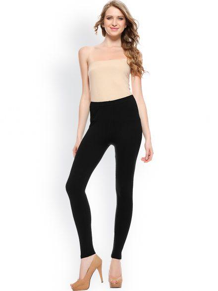 Leggings with Dressy Tops