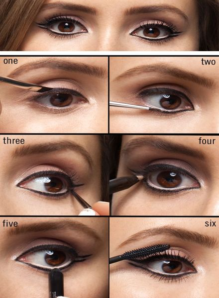 How to apply winged eyeliner?
