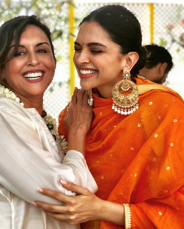 Deepika and Ranveer Pre-Wedding Ceremony